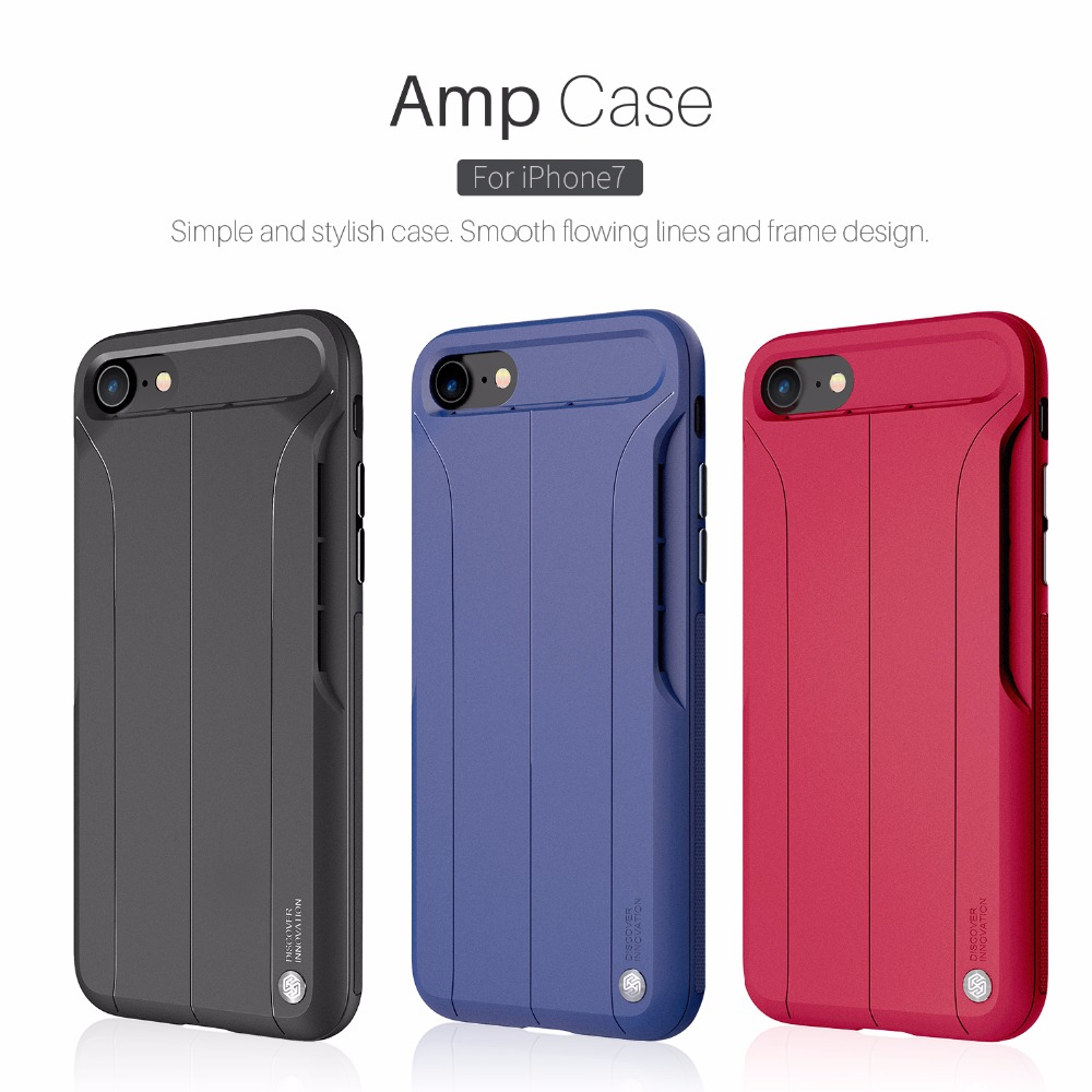 For iPhone 7 Case 4.7 inch Cover NILLKIN Amp Case