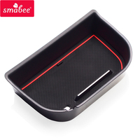 Smabee Car Central Armrest Box Storage For Nissan Navara NP300 D23 2015 2018 Interior Accessories Box