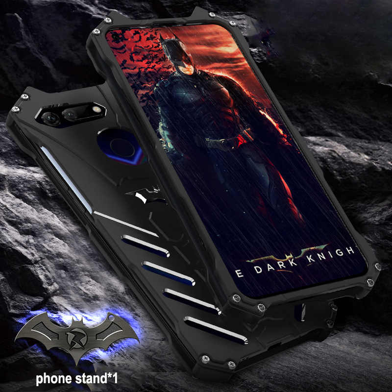 Per HUAWEI Honor Caso di V20 Originale R-JUST Batman Armatura del Metallo di Alluminio Per Huawei Vista 20 V20 Custodia Antiurto Coque