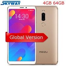 Orijinal Meizu M8 Küresel Sürüm V8 4 GB 64 GB MTK Helio P22 Quad Core Cep Telefonu 5.7 inç HD IPS Ekran Çift Sim cep telefonu
