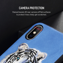 ROCK Beast Series Embroidory Protection Case for iPhone X/Xs