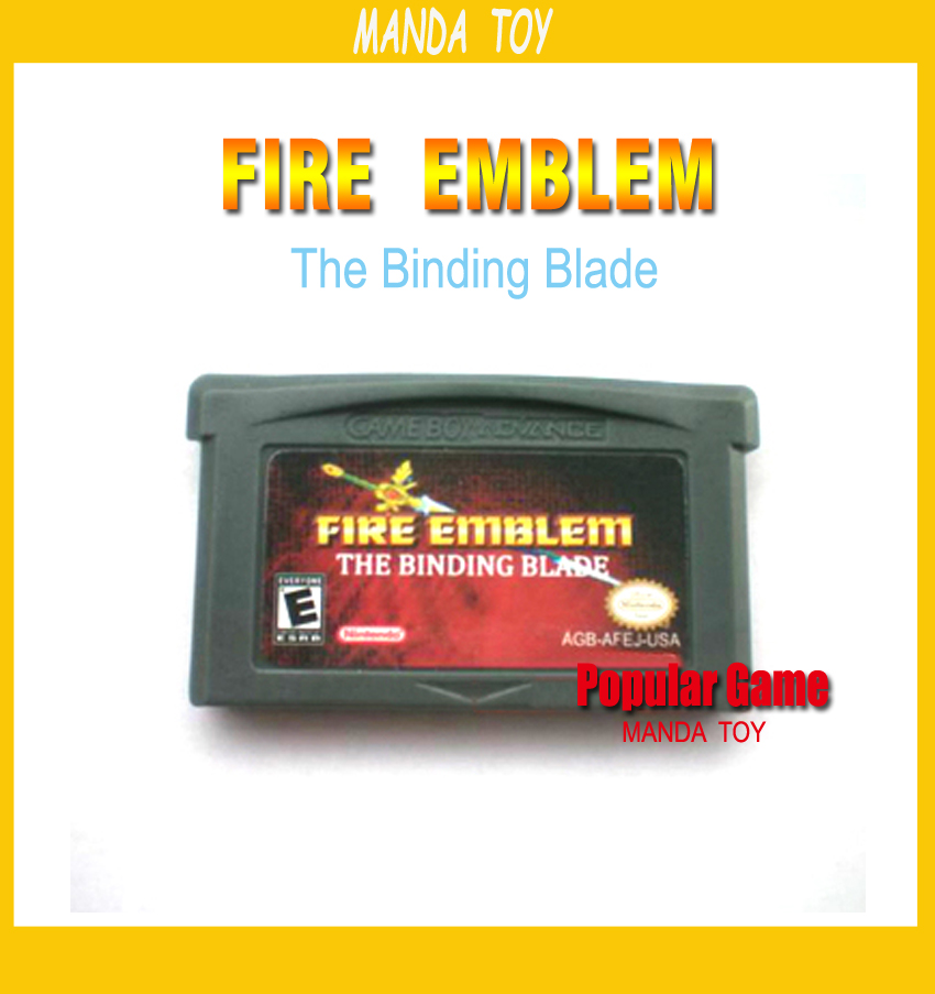 download Fire Emblem - The Binding Blade USA GBA - Gameboy ...