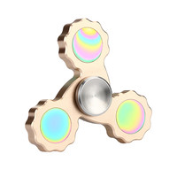 Creative Spinner New Colorful Tri Fidget Hand Spinner Triangle Torqbar Finger Toy EDC Focus ADHD Autism