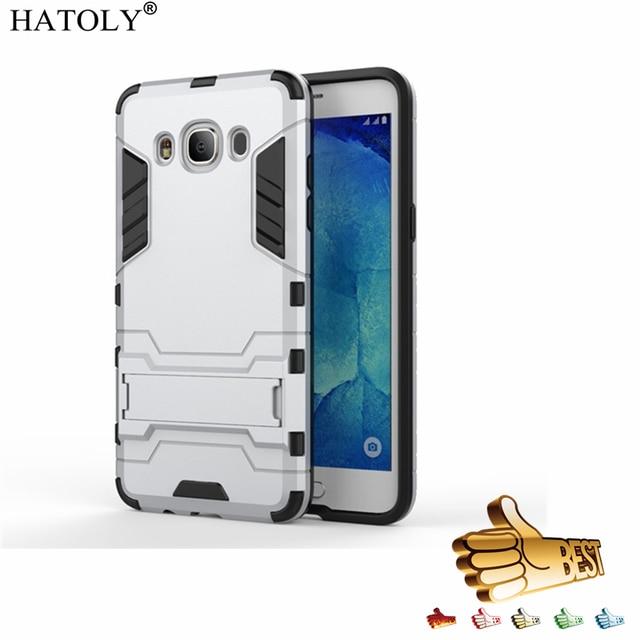 best service 79adb df484 US $2.68 37% OFF|HATOLY For Armor Case Samsung Galaxy J5 2016 J510F Case  Robot Hybrid Silicon Rubber Hard Case Cover For Samsung Galaxy J5 2016<-in  ...