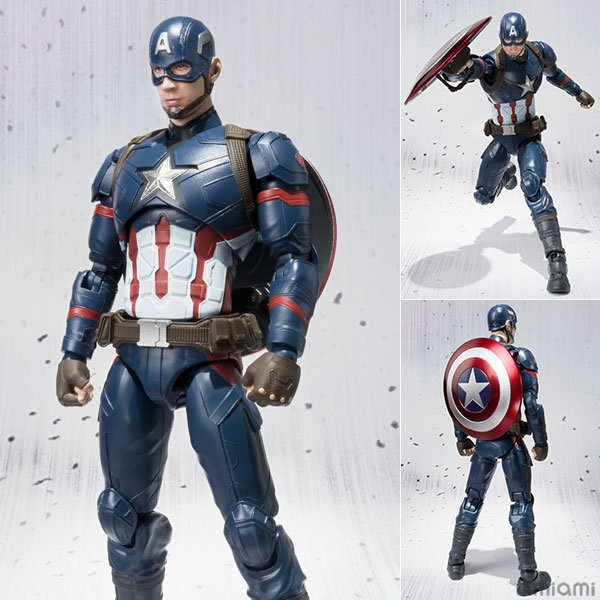 NEW Hot 16cm avengers Captain America Super hero movable action figure toys collection gift new hot 17cm captain america civil war avengers super hero movable collectors action figure toys christmas gift doll with box
