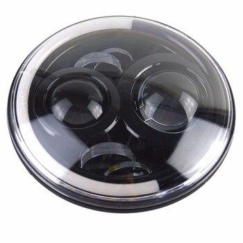Lumières Led 12v | Marlaa 1 Pièces Feux 60 W Voiture Led H4 7 Pouces Voiture Accessoires H4 Phare Led Pour Lada Niva 4X4 Uaz Hunter