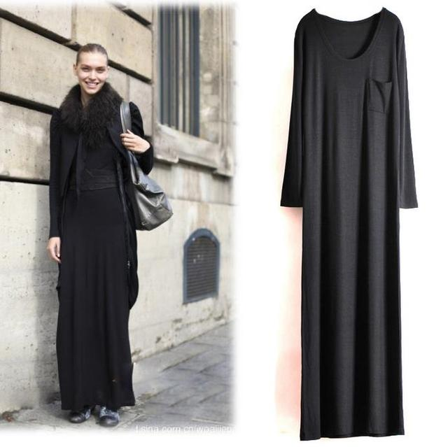 mode lange vrouw