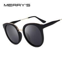 Merry's дизайн Для женщин ретро кошачий глаз Солнцезащитные очки поляризованные Солнцезащитные очки 100% УФ-защитой s'6316