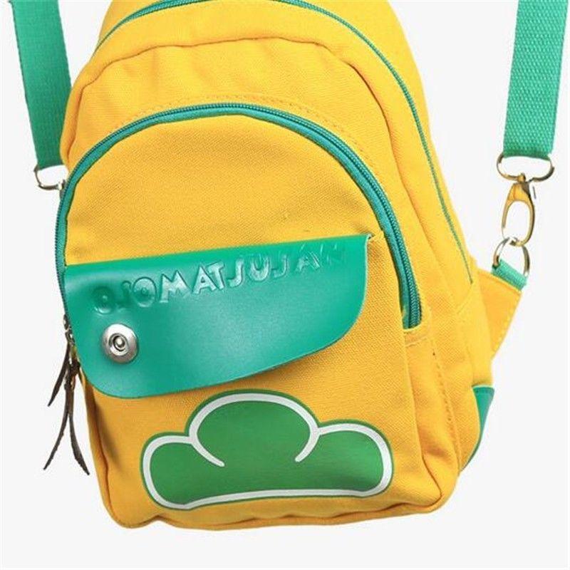Mr Osomatsu San SIX SAME FACES Konya wa Saikou School Backpack Shoulder Bag new six same faces konya wa saikou mr osomatsu san ed anime cosplay nylon wallet osomatsu san bags