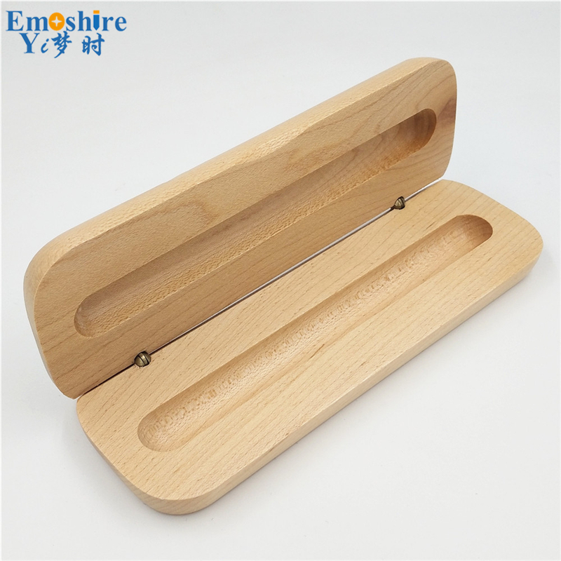 Fashion Wholesale Classic Wooden Pen Box Pencil Cases Fashion Gifts Packaging for School Office Supplies Pencil Cases B015 new arrival office school supplies pencil box wood pencil cases unique design wooden pencil cases b034