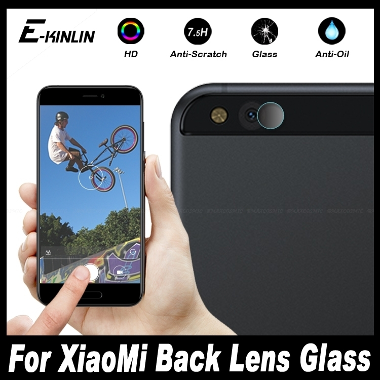 Back Camera Lens For XiaoMi Mi 5 5S 5C 4S 4i 4C Mix Max Note 2 Mi5 Mi5S Mi5C Mi4i Mi4S M5 M5S M5C Tempered Glass Protector Film