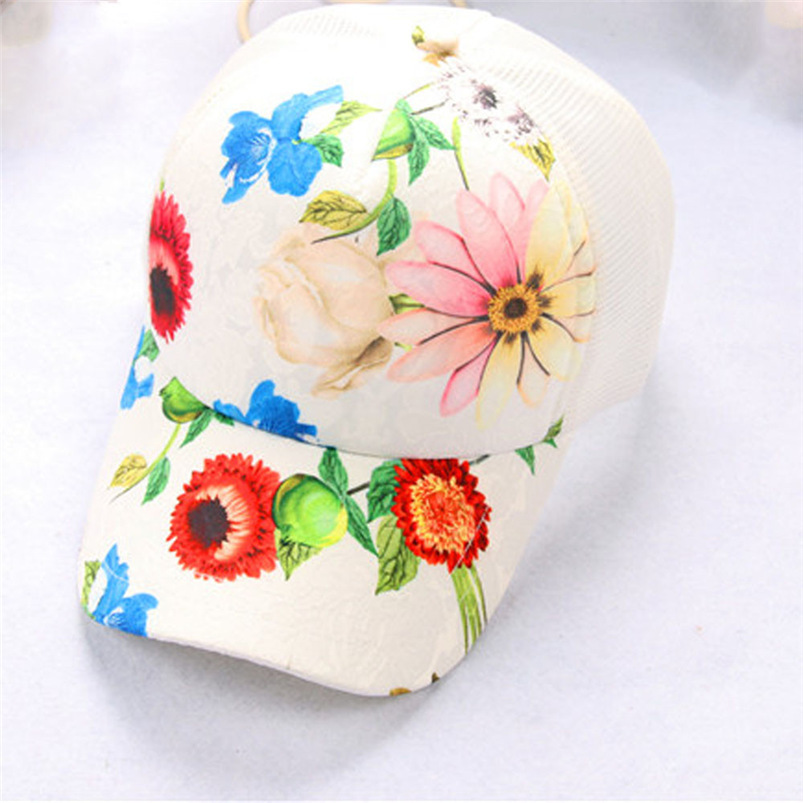 Baseball Cap Women 2018 New Summer Vintage Print Snapback Hat Hippie Hip-Hop Adjustable Casual Hat Fall Girl Wholesale #FJ13 (10)