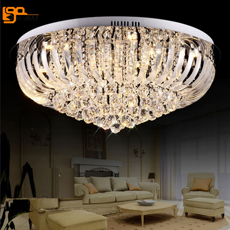 Us 327 52 11 Off New Beautiful Crystal Chandelier For Living Room Lights Dia60 H25cm Res Modern Lighting In Chandeliers From