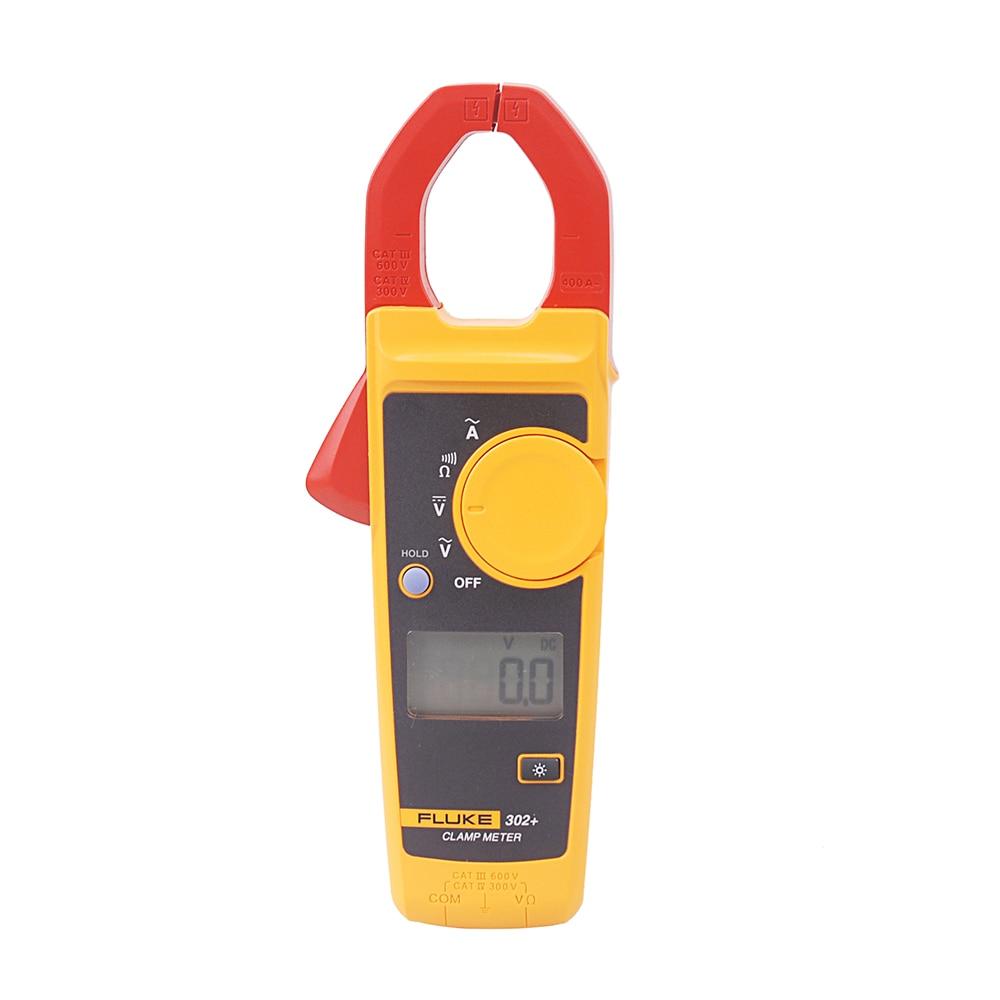 Tools : Free Shipping Fluke 302  Digital Clamp Meter AC DC Multimeter Tester Fast shipping