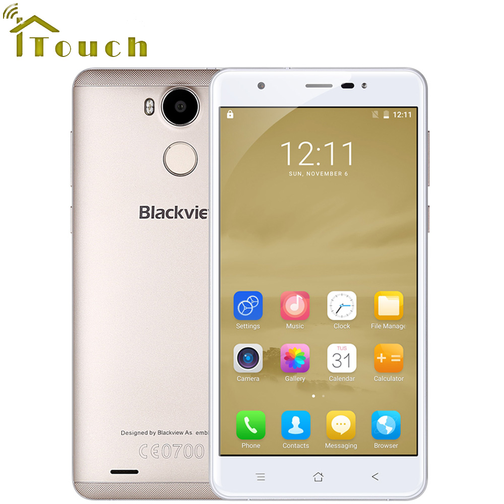 bilder für Blackview r6 4g smartphone 5,5 zoll fhd 1920x1080 mtk6737 quad Core Android 6.0 3 GB RAM 32 GB ROM 13MP CAM Fingerabdruck ID
