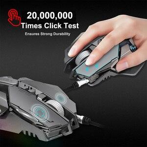 Image 3 - G9 игровая мышь, проводная USB DPI Регулируемая макро программируемая мышь, геймерская оптическая профессиональная RGB мышь, игровая мышь для ПК, компьютера