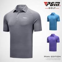 Golf Apparel Men tshirt 2018 Short Sleeve Tops Quick Dry T Shirt Sport Polo Shirt Breathable High Quality