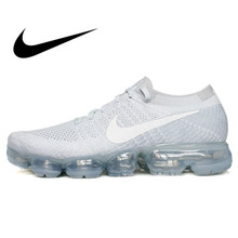 0b9c277653736 Original Authentic Nike Air VaporMax Flyknit Women s Running Shoes  Breathable Outdoor Sports Sneakers Designer Footwear 849558