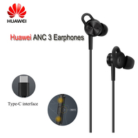Original Product Huawei ANC 3 Earphones 3 Mode Active Noise Cancel Hi Res Quality Music Type C Charge Free Mic Anti Wind Design