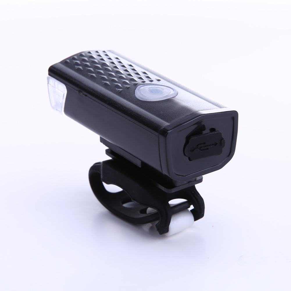 300LM USB Rechargeable Bike Front Light Cycling Bicycle CREE LED Headlamp 3Modes