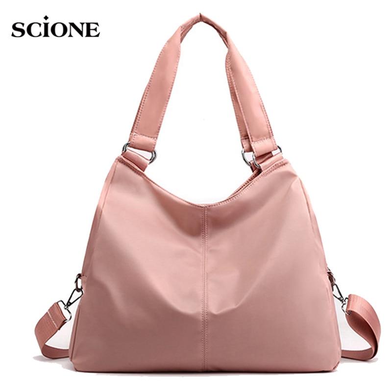 Women Training Gym Bag Fitness Travel Handbag Waterproof Nylon Yoga Mat Shoulder Bags Tote For Female Tas Sac De Sport  XA848WA
