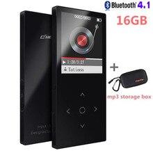 Bluetooth MP3 плеер Сенсорный экран Бенджи K8 ультра тонкий 8 ГБ/16 ГБ плеера 1.8 дюймов Цвет Экран без потерь hifi звук с FM