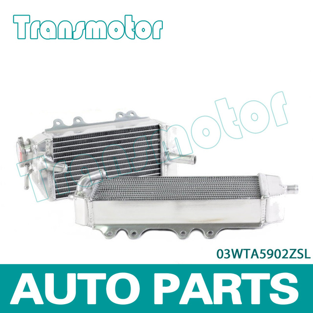 Aluminum Radiator Right / Left KIT FOR  KAWASAKI KX250 KX250F 06-08