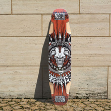 KOSTON pro multifunction longboard deck with 9ply canadian maple hot air pressed, allround usage long skateboard deck.