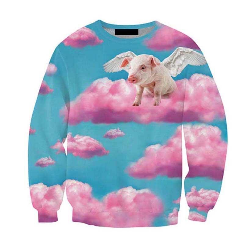 Harajuku Tops Women Men 3d hoodies Pull the 90s Jazz <font><b>Solo</b></font> Paper <font><b>Cup</b></font> Crewneck Sweatshirt Fashion Clothing Sweats Plus Size S-3XL