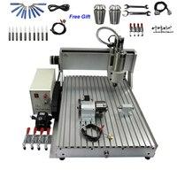 USB CNC машинное оборудование 4 оси 6040 гравировальный станок для резки 1500 Вт CNC маршрутизатор для металла древесины PCB акрил