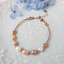 Модные простые свадебные украшения из розового золота bilincolor