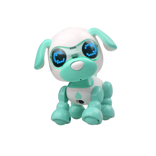 Robot toy dog UInteractive Smart Puppy Robotic Dog LED Eyes Sound Recording Sing Sleep Cute action figure Education D301212 1