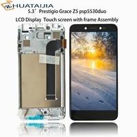 5 3 LCD Display Matrix Touch Screen For Prestigio Grace Z5 Psp5530duo Psp5530 Duo Digitizer Panel