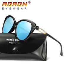 2017 Aoron Brand Women Sunglasses Polarized Eyewear Color Film Classic Style Goggles Girls Fashion Accessories Glasses A399