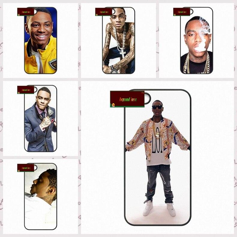 Soulja Boy Tell 'Em US rapper Cover case for iphone 4 4s 5 5s 5c 6 6s plus samsung galaxy S3 S4 mini S5 S6 Note 2 3 4  DE0208