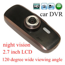 2.7″ inch LCD Car HD DVR Video Recorder Camera H200 1080P 120 degree wide viweing angle Vehicle Traveling Data Recorder