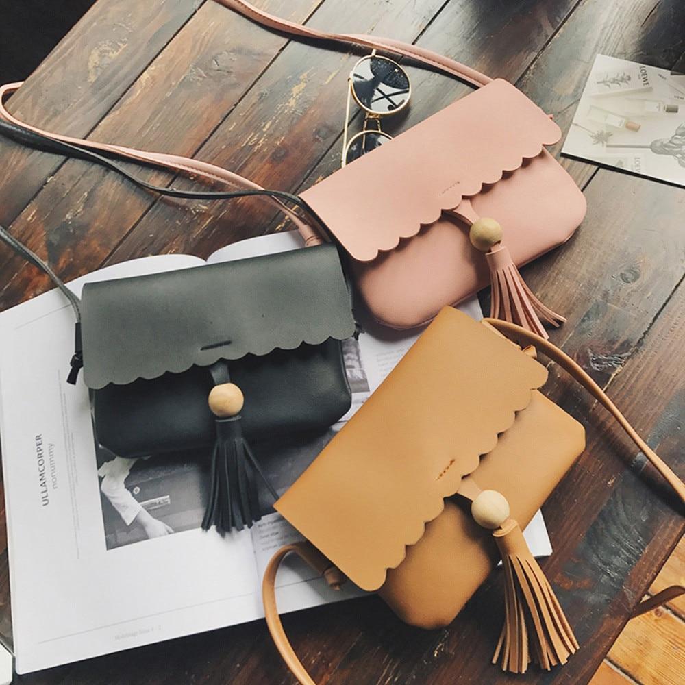Baoaili Feminina Solid Vintage Hot Selling Free Shipping font b Fashion b font Messenger Bags Candy