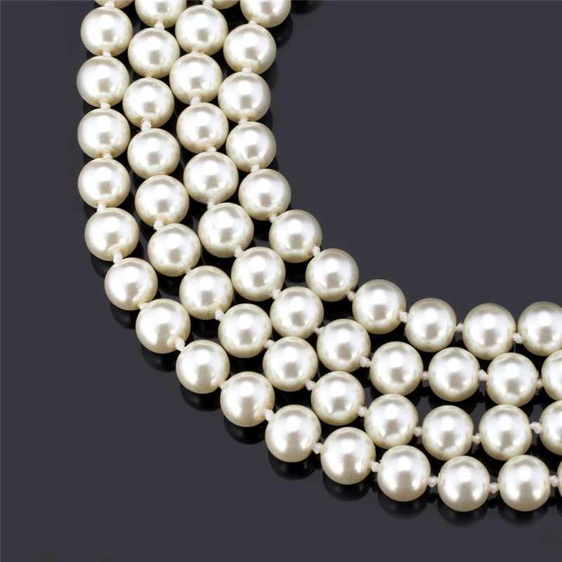 150cm long pearl necklace, white pearl necklace wholesale, lady pearl necklace.