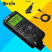Meyin TW 836 E3 Wireless LCD Shutter Release Timer Remote Control for Canon 60D 70D 600D 650D 700D 550D,Pentax K 5 K 7 K10 K20