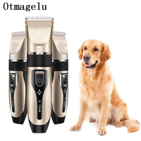 Pet Dog Hair Trimmers Electrical Scissors Dog Grooming Tools Accessories Chargeable Cat Shavers Hair Cutter Haircut Clippers Set