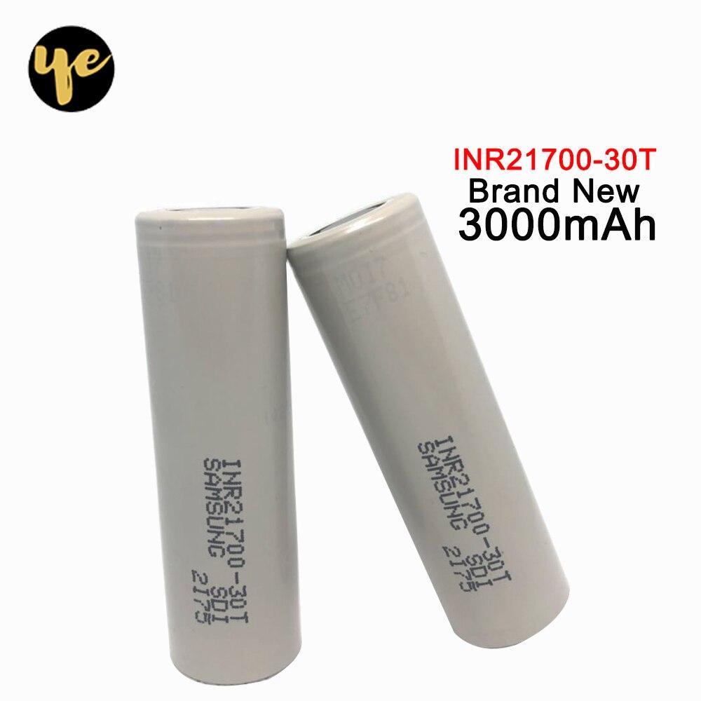 2 pièces 3.7V 40A décharge drain 21700 li-ion batterie 3000mah batterie rechargeable accu 21700 batterie pour Cigarette électronique Mod