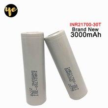 2 шт. для samsung INR21700-30T 30 T bateria 21700 3000 mah 35A 3,7 V аккумуляторная Мощная батарея с плоской вершиной PK NCR21700A