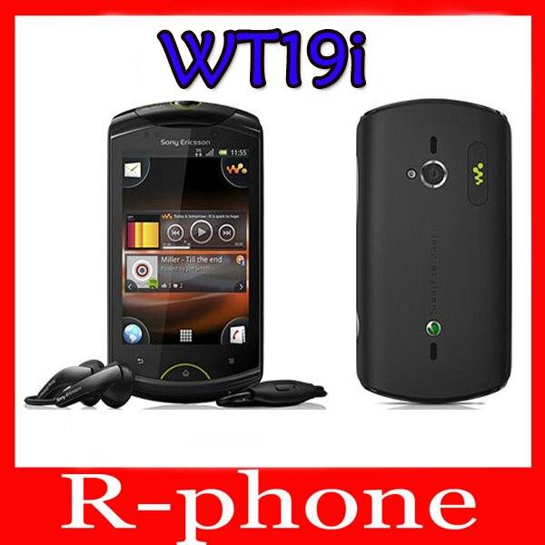 Цена за Восстановленное в Исходном Sony Ericsson WT19i 5MP WIFI Разблокирована Android Мобильного Телефона
