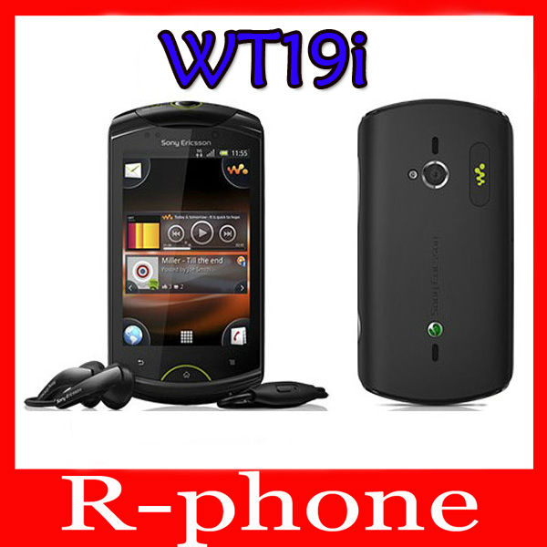 bilder für Refurbished sony ericsson wt19i 5mp wifi entsperrt android handy