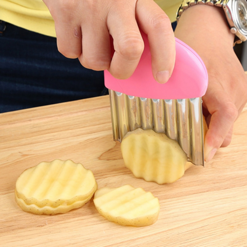 Shredders Slicers French Fries Cutter Stainless Steel Potato Chips Making Cut Vegetable Kitchen Fruit Tool Accessories