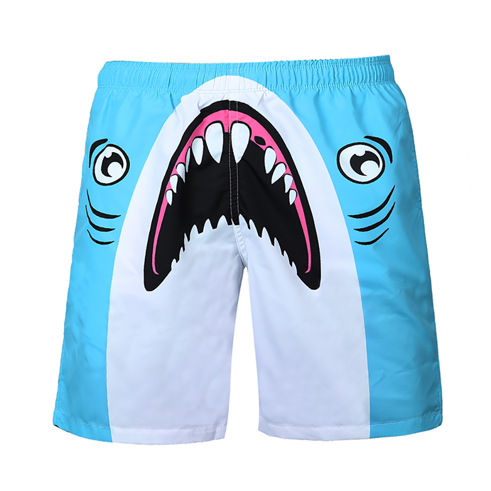 Cartoon Pattern Men's Sports   Short   Beach   Shorts   Bermuda   Board     Shorts   Surfing Swimming Boxer Trunks Bathing Suits Beach Wear