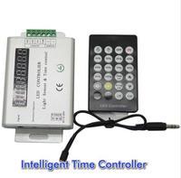 24キー3チャンネル12ボルト/24ボルトインテリジェント光センサーと時間プログラマブルledコントローラ用単