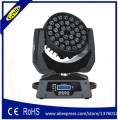 Dmx512 36 шт. 10 Вт 36x10 rgbw 4in1 zoom led moving head light focus the lighting