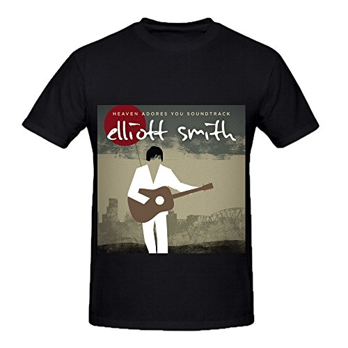 Elliott Smith Heaven Adores You Soundtrack Soundtrack Men Crew Neck Cool Shirts