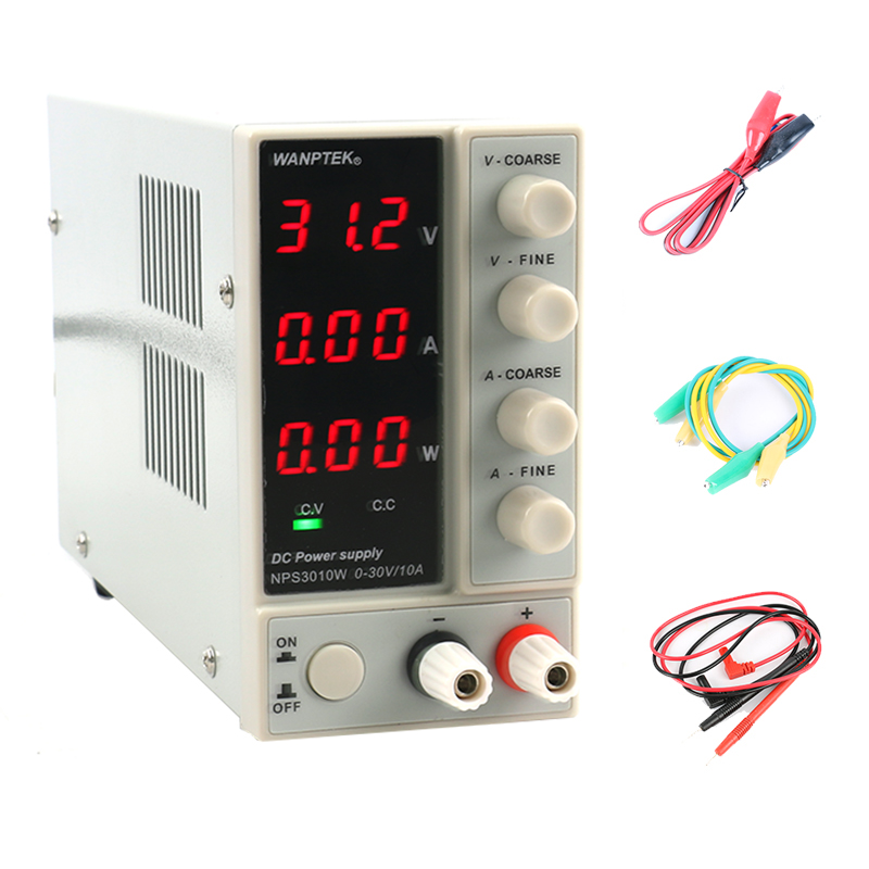 NPS3010W NPS306W Mini Adjustable Digital DC power supplise Switching Power supply 30V 10A 5A Laboratory repair